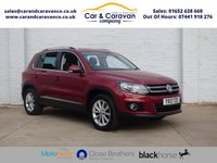 USED 2013 13 VOLKSWAGEN TIGUAN 1.4 SE TSI BLUEMOTION TECHNOLOGY 5d 158 BHP All Dealer History Bluetooth Buy Now, Pay Later Finance!