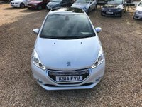 USED 2014 14 PEUGEOT 208 1.6 e-HDi XY (s/s) 3dr £0 Tax, Sat Nav & Pan Roof