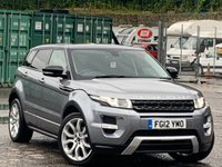 USED 2012 12 LAND ROVER RANGE ROVER EVOQUE 2.2 SD4 Dynamic AWD 5dr PrivacyGlass/ReverseCam/Nav