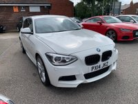 USED 2014 14 BMW 1 SERIES 2.0 120d M Sport Sports Hatch xDrive (s/s) 5dr BMW SERVICE HISTORY