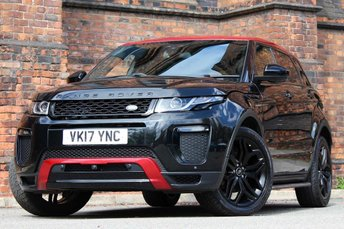 2017 LAND ROVER RANGE ROVER EVOQUE 2.0 TD4 Ember Special Edition Auto 4WD (s/s) 5dr £32977.00