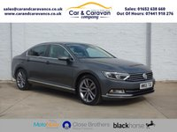USED 2015 65 VOLKSWAGEN PASSAT 2.0 GT TDI BLUEMOTION TECHNOLOGY 4d 148 BHP One Owner Full Dealer History Buy Now, Pay Later Finance!