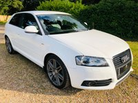 2009 AUDI A3 2.0 TDI S LINE SPECIAL EDITION BLACK EDITION 3d 138 BHP SOLD
