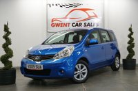 USED 2009 09 NISSAN NOTE 1.6 ACENTA 5d AUTO 110 BHP GREAT LOW MILEAGE EXAMPLE