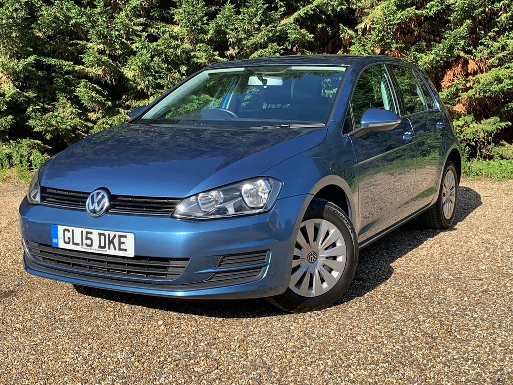 USED 2015 15 VOLKSWAGEN GOLF 1.4 S TSI BLUEMOTION TECHNOLOGY 5d 120 BHP