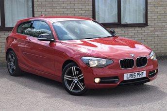 2015 BMW 1 SERIES 1.6 114D SPORT 3d 94 BHP £7450.00