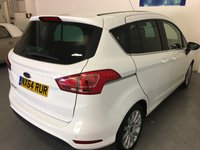 USED 2014 64 FORD B-MAX 1.6 TITANIUM 5d AUTO 104 BHP Fabulous Ford B-Max 1.6 Titanium Automatic Finished In Stunning Frozen White With Contrasting Anthracite Upholstery, Really Low Mileage Only 24,550 Miles, Full Titanium Specification With Alloys, Climate Control, Cruise Control, Park Sensors, Privacy Glass,Sony DAB Digital Radio, Full Voice Controlled Bluetooth And Rain Sensor Wipers  A Few, Had A Few Of These And They Never Fail To Impress With The Amount Of Space They Have For Their Compact Dimensions And They Are