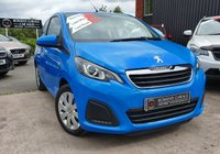 USED 2017 66 PEUGEOT 108 1.0 ACTIVE 3d 68 BHP 1 Owner - Low Miles - NIL Road Tax - Full S/History