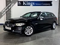USED 2013 63 BMW 5 SERIES 2.0 520D SE TOURING 5d AUTO  FSH , Leather, Nav, Electric Boot Opening, Drive Away SAME DAY!! STUNNING