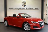 """USED 2015 15 AUDI TT 2.0 TDI ULTRA SPORT 2DR 182 BHP full service history Finished in a stunning red styled with 18"""" alloys. Upon opening the drivers door you are presented with immaculate half leather interior, full service history, bluetooth, heated seats, dab radio, virtual cockpit, air conditioning, heated mirrors, auxiliary port"""