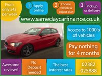 USED 2014 14 BMW 1 SERIES 1.6 116I SPORT 3d 135 BHP CALL OUR SUPER FRIENDLY TEAM FOR MORE INFO 02382 025 888