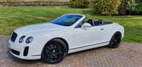 2010 BENTLEY CONTINENTAL 6.0 SUPERSPORTS AUTO GTC SUPERSPORT £62500.00