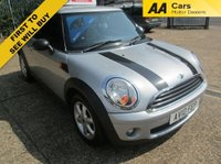 USED 2010 10 MINI HATCH ONE 1.6 ONE 3d 98 BHP