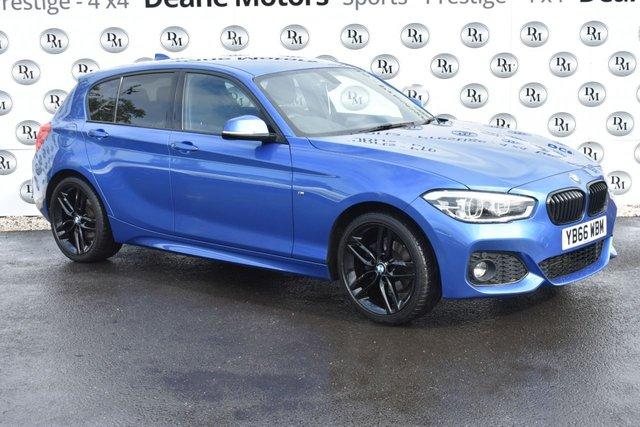 2017 66 BMW 1 SERIES 1.5 116D M SPORT 5d 114 BHP BLACK PACK