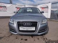 USED 2013 13 AUDI A3 1.6 TDI Sport Sportback 5dr 2 OWNERS+BLUETOOTH+PARK ASSIST