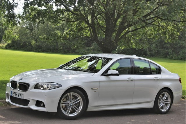 2016 16 BMW 5 SERIES 2.0 520D M SPORT 4d AUTO