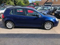 USED 2008 58 VOLKSWAGEN GOLF 1.6 MATCH FSI 5d 114 BHP GREAT SPEC AND VALUE AIR CONDITIONING, ALLOYS, SUPPLIED WITH A NEW MOT