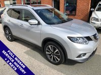 """USED 2016 16 NISSAN X-TRAIL 1.6 DCI TEKNA 5DOOR 130 BHP Family 7-Seater     :     DAB Radio     :     Satellite Navigation     :     USB & AUX Sockets    Cruise Control / Speed Limiter   :   Bluetooth Connectivity   :   Electrically Adjustable Sunroof     Heated & Electric Front Seats           :           Rear View Camera & 360 Degree Cameras      Front & Rear Parking Sensors   :   19"""" Alloy Wheels   :   Full Nissan Service History"""