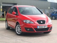 USED 2011 61 SEAT ALTEA XL 2.0 CR TDI SE 5d 140 BHP