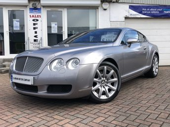2004 BENTLEY CONTINENTAL 6.0 GT 2d AUTO 550 BHP £19975.00