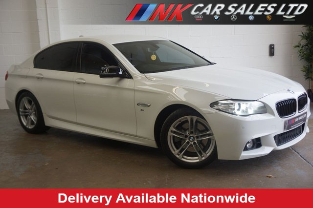 2013 13 BMW 5 SERIES 2.0 520D M SPORT 4d AUTO SOLD TO FLORIN FROM   SHEFFIELD