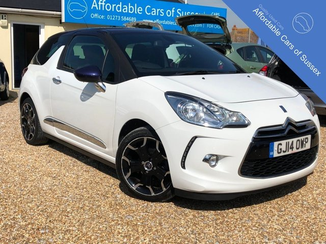 2014 14 CITROEN DS3 1.6 DSTYLE PLUS 3d 120 BHP