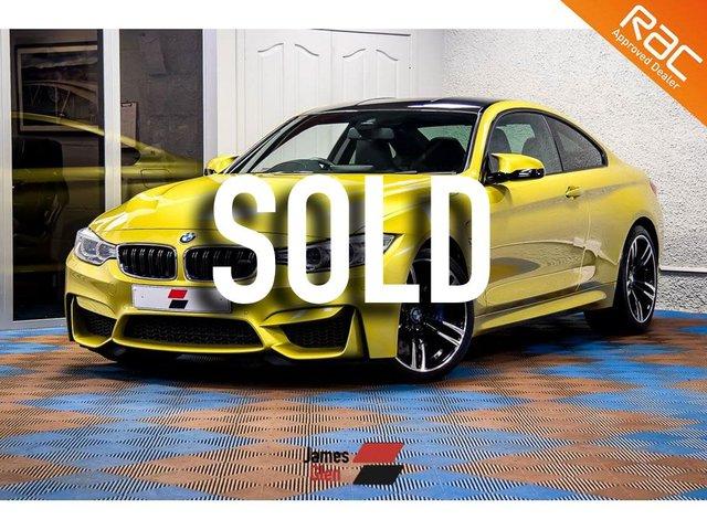 USED 2015 65 BMW M4 3.0 M4 2d AUTO 426 BHP Three BMW Services