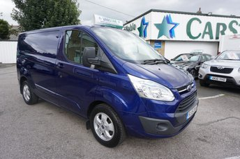2015 FORD TRANSIT CUSTOM 270 2.2 TDCI 125 BHP SWB LIMITED 5DR ( ONLY 17000 MILES ! ) £12489.00