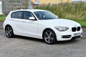 2014 BMW 1 SERIES 2.0 116D SPORT 5d  £7990.00