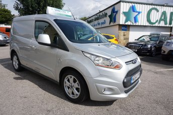 2015 FORD TRANSIT CONNECT 1.6 TDCI 115 BHP 200 L1 LIMITED 5DR ( 1 OWNER + 6 X STAMPS ! )  £6489.00