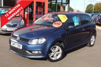 USED 2017 17 VOLKSWAGEN POLO 1.2 MATCH EDITION TSI 5d 89 BHP *****12 Months Warranty*****