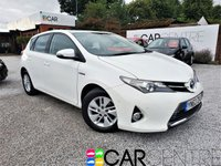 USED 2013 63 TOYOTA AURIS 1.8 VVT-I ICON 5d AUTO 98 BHP 1 OWNER FROM NEW + SERV HIST