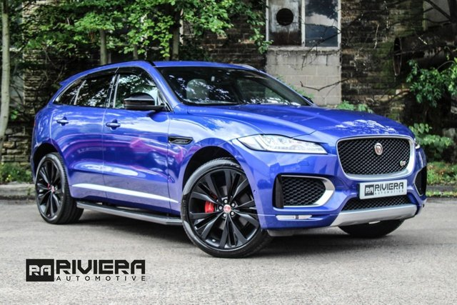 2016 JAGUAR F-PACE 3.0 V6 FIRST EDITION AWD 5d 296 BHP