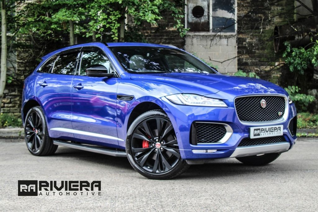 USED 2016 JAGUAR F-PACE 3.0 V6 FIRST EDITION AWD 5d 296 BHP