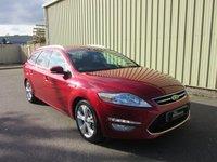 2014 FORD MONDEO 2.0 TITANIUM X BUSINESS EDITION TDCI 5d AUTO 161 BHP £8995.00