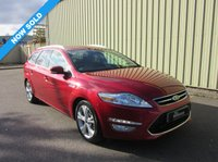 USED 2014 14 FORD MONDEO 2.0 TITANIUM X BUSINESS EDITION TDCI 5d AUTO 161 BHP 1 PREV OWNER HIGH SPEC