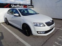 USED 2015 15 SKODA OCTAVIA 1.6 BLACK EDITION TDI CR DSG 5 door  AUTO 104 BHP white £226 A MONTH SATELLITE NAVIGATION  PRIVACY GLASS CLIMATE CONTROL ALLOY WHEELS £20 ROAD TAX  MOT JUNE 2020 SUPPLIED WITH SERVICE