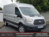 USED 2017 17 FORD TRANSIT 350 2.2 130 BHP TREND L3 H2  ALLOY  WHEELS**OVER 85 VANS IN STOCK**