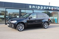 USED 2013 13 BMW X5 3.0 XDRIVE30D M SPORT 5d AUTO 241 BHP Sapphire Black Metallic, 7 Seats, Full Oyster Leather, DAB Tuner, USB/Audio Interface, M Sports Package, Electric Seat Adjustment With Memory, Sports Seats, Brushed Aluminium Interior Trim, Bluetooth Mobile Phone, Park Distance Controll Front And Rear, Rain Sensor, Xenon Lights, Cruise Control With Brake Function, Light Package, Navigation System, 2 Former Owners, Full Service History, 2 Keys and Book Pack