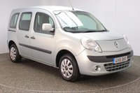 USED 2011 61 RENAULT KANGOO 1.6 EXPRESSION 16V 5DR FULL SERVICE HISTORY FULL SERVICE HISTORY + WHEELCHAIR ACCESSIBLE + PARKING SENSOR + AIR CONDITIONING + RADIO/CD/AUX + ELECTRIC WINDOWS + ELECTRIC MIRRORS