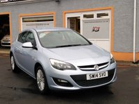 "USED 2014 14 VAUXHALL ASTRA 1.4 EXCITE 5d 98 BHP 17"" Alloys, Air Conditioning, Cruise Control, Bluetooth"