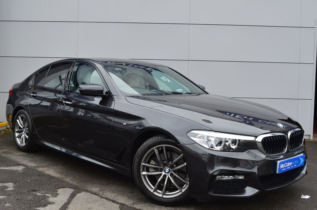USED 2018 BMW 5 SERIES 2.0 520I M SPORT 4d AUTO 181 BHP  13,000 mile