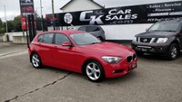 2014 BMW 1 SERIES 1.6 116D EFFICIENTDYNAMICS 5d 114 BHP £7990.00