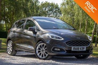 2018 FORD FIESTA 1.0 VIGNALE 5d AUTO 99 BHP £12990.00