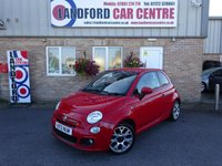 USED 2013 13 FIAT 500 1.2 S 3d 69 BHP £30 ROAD TAX! ONE LADY OWNER!!