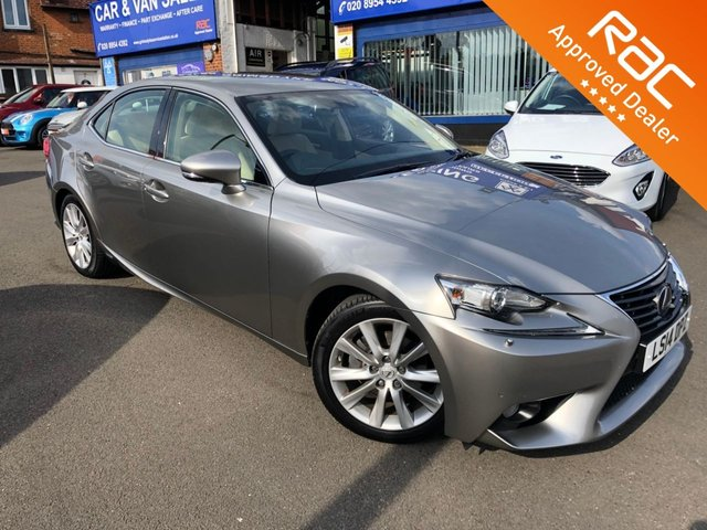 2014 14 LEXUS IS 2.5 300H LUXURY 4d AUTO 220 BHP