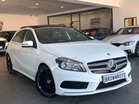 USED 2013 63 MERCEDES-BENZ A CLASS 1.8 A200 CDI BLUEEFFICIENCY AMG SPORT 5d AUTO 136 BHP +LTHER+PANROOF+FSH++