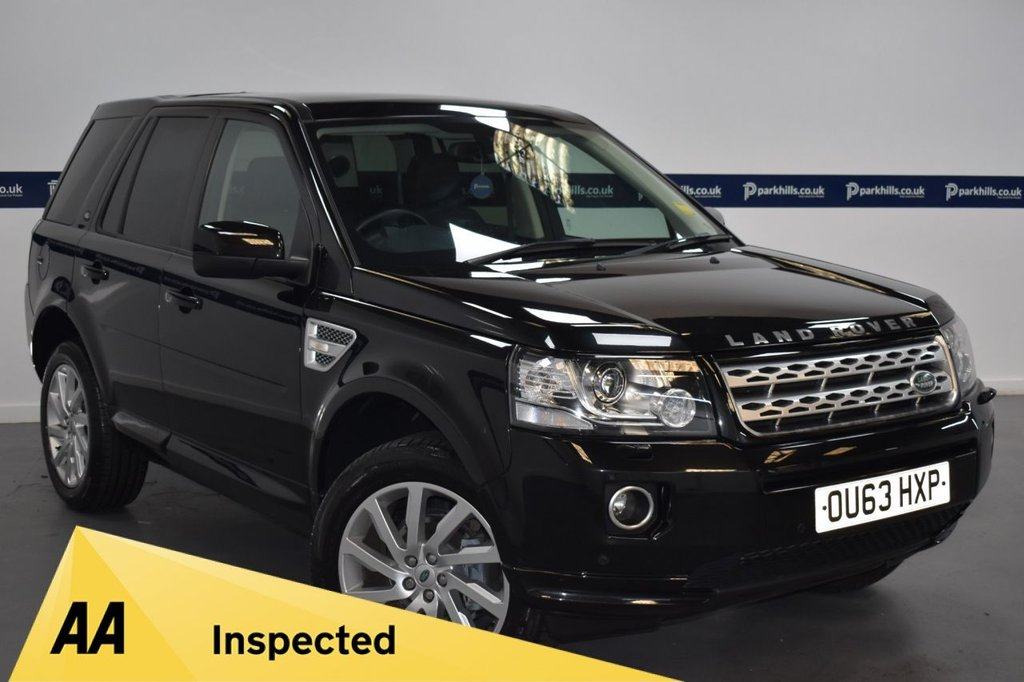 USED 2013 63 LAND ROVER FREELANDER 2.2 SD4 HSE 5d AUTO 190 BHP (5 STAMP SERVICE HISTORY)