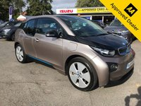 USED 2016 16 BMW I3 0.6 I3 RANGE EXTENDER 5d AUTO 168 BHP IN SILVER LONG WHEEL BASE WITH FULL BMW SERVICE HISTORY WITH A BIG SPEC .(ULEZ COMPLIANT) APPROVED CARS ARE PLEASED TO OFFER THIS BMW I3 0.6 I3 RANGE EXTENDER 5 DOOR AUTOMATIC 168 BHP IN SILVER LONG WHEEL BASE WITH A GREAT SPEC INCLUDING ABS, Power steering, Air conditioning, Privacy glass, Alarm, Electric windows, Rain sensing wipers, Alloy wheels, Sat Nav, Bluetooth, (Full) Leather ,Central locking,Metallic paint,Climate control,Cruise control,Parking Sensors (front), 2 Keys +, Parking Sensors (rear), DAB Radio, Rear Camera with a full BMW service history with a DC Rapid Charge Pre
