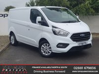 USED 2018 18 FORD TRANSIT CUSTOM 300 2.0 130 BHP LIMITED P/V L1 H1**OVER 85 VANS IN STOCK**